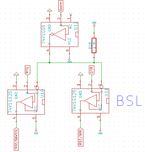 BSL tristate buffers